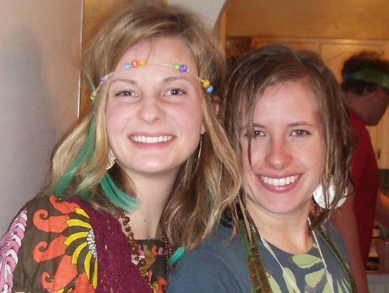 Hippie chics